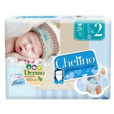 PAÑAL CHELINO FASHION AND LOVE T2 3-6 Kg  28 U 165773.2