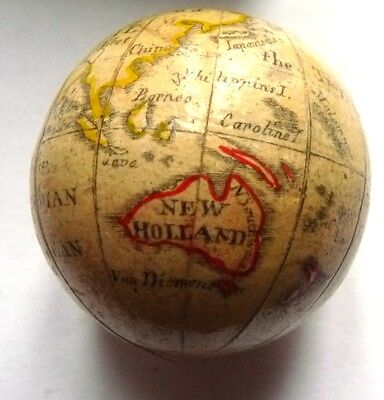 FINE BOXED LATE 18TH /EARLY 19TH CENTURY POCKET OR TRAVELLING GLOBE