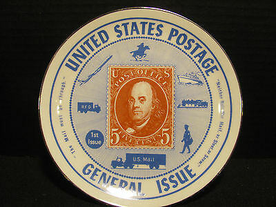 UNITED STATES POSTAGE GENERAL ISSUE HARRISON HOUSE COLLECTOR'S PLATE