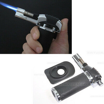 Soldering Welding Butane Gas Hand Torch Flame Jet Lighter Large Gun Tool