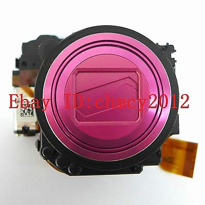 LENS ZOOM UNIT For Nikon Coolpix S6200 Digital Camera Repair Part Pink