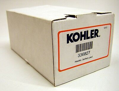 Kohler model 336827 Battery Heater Pad lower base unit