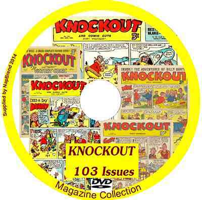 Knockout Comics on DVD 103 issues includes viewing software