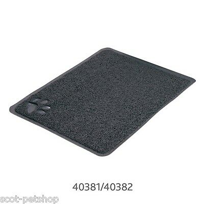 Cat Litter Mat For Cat Litter Trays Grey With Paw - Choice Of Sizes