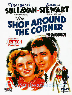 The Shop Around the Corner (1940) - Margaret Sullavan, James Stewart - DVD