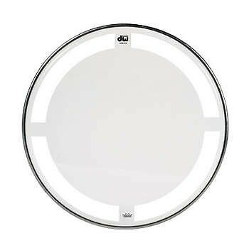 """Remo 8"""" DW heads coated clear"""