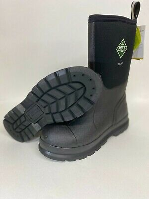 NEW Muck Chore Black Mid Work Boots sz 5,6,7,8,9,10,11,12,13 CHM-000A Waterproof