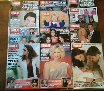 HOLA SPANISH MAGAZINE LOT BACK ISSUES 12