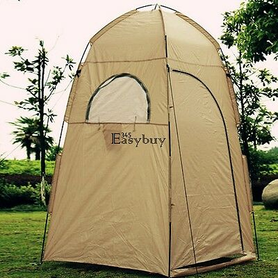 Portable Pop UP Camping Fishing Bathing Shower Toilet Changing Tent Room EY6E