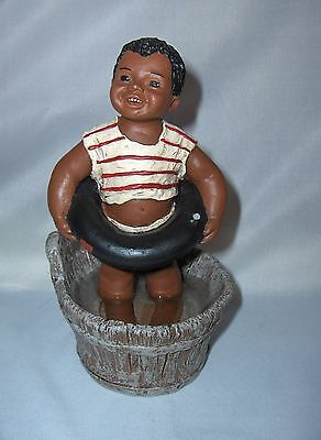 Vintage All God's Children Miss Martha Originals Bean Figurine Clear Water 82