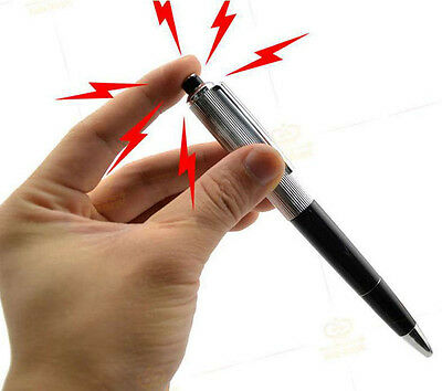 Electric Shock Pen Toy Practical Gadget Gag Joke Funny Prank Trick Novelty gifts