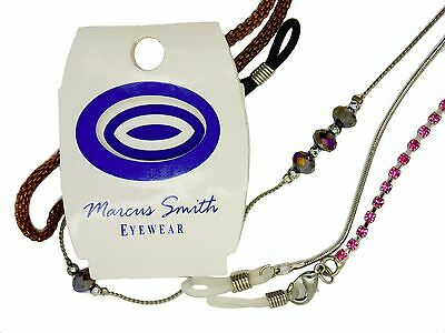 Marcus Smith Designer Spectacle Glasses Chains Cords Various Designs & Styles