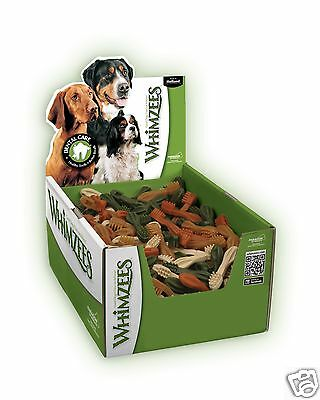 Whimzees Toothbrushes x 150 (90mm) Small Vegetable Dog Chews