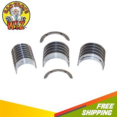 Main Rod Bearings and Thrust washer kit compatible with Toyota Scion 2.0L 2.4L 1AZFE 2AZFE .25mm or .010