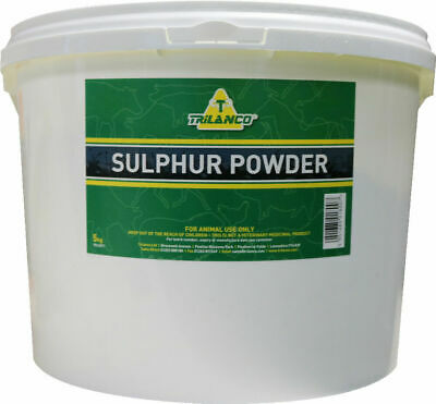 Flowers of Sulphur Powder x 5 Kg - Horse Care & First Aid