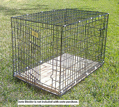 "Pet Crate - Large Folding Dog Cage (L42""xW28""xH31"") -  FREE SHIPPING (D804)"
