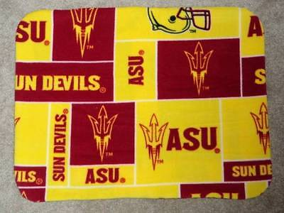 Fleece Standard (Twin) Pillow Cover - College Football -Arizonia Sundevils