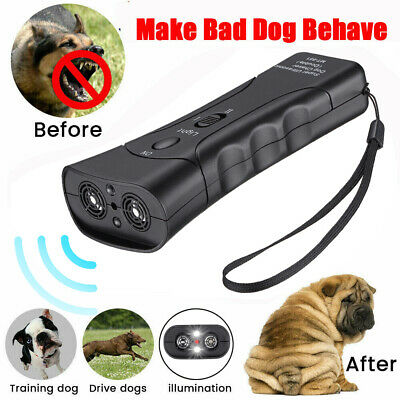 Ultrasonic Anti Bark Control Stop Barking Away Pet Dog Training Repeller Devices