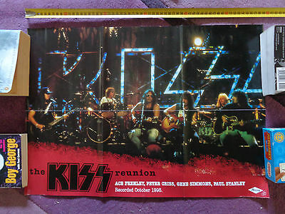 THE KISS REUNION_RARE PROMO POSTER_ships from AUSTRALIA!_33b