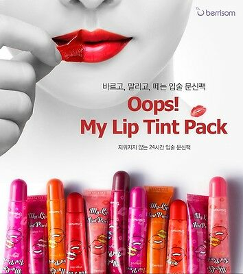 BERRISOM My Lip Tint Pack 8 Colors Oops tint pack (15g) 100% authentic