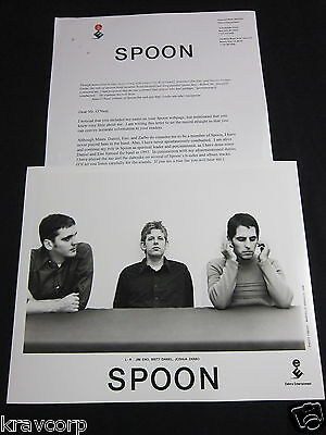 Spoon 'A Series Of Sneaks' 1998 Press Kit—Photo