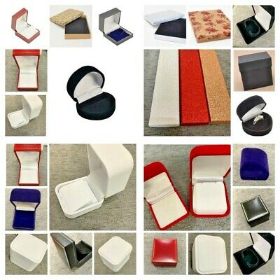 Jewellery Gift Box Ring Box Earring Box Bracelet Box Bangle Box Stud Box Heart