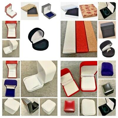 Jewellery Gift Box Ring Earring Bracelet Box Bangle Stud Heart Wrap Present Xmas