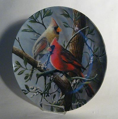 The Cardinal - Birds of Your Garden Plate - Knowles