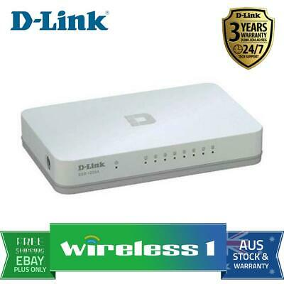 D-Link DGS-1008A 8-Port Gigabit Easydesktop Switch