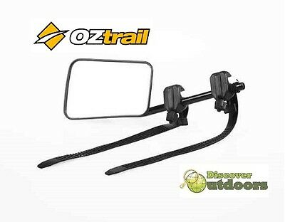NEW OZtrail Towing Mirror for Caravan 4WD Camping Caravan Single Set  2 Mirrors