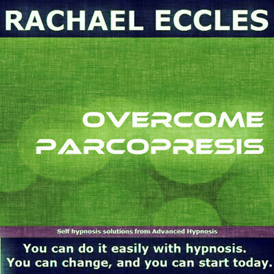 Self Hypnosis: Parcopresis, Hypnotherapy CD, Rachael Eccles