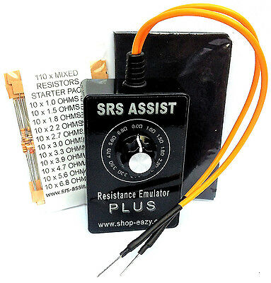 Professional Airbag Srs Resistance Emulator Fault Finder Test Tool 0 - 6.8 Ohms