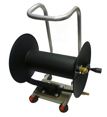 """Hose Reel for Pressure Washer/ Sewer Jetter 200' x 3/8"""""""