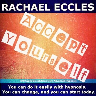 Accept Yourself, Self Esteem Self Hypnosis, Hypnotherapy CD
