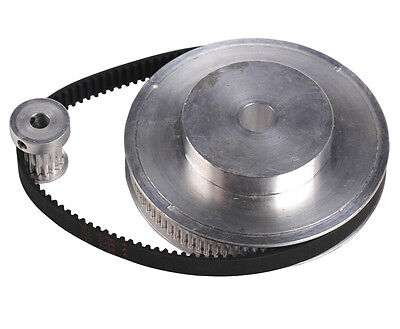 CNC Engraving Machine Accessory 3M Timing Pulley Belt Set Kit Reducer Ratio 6:1