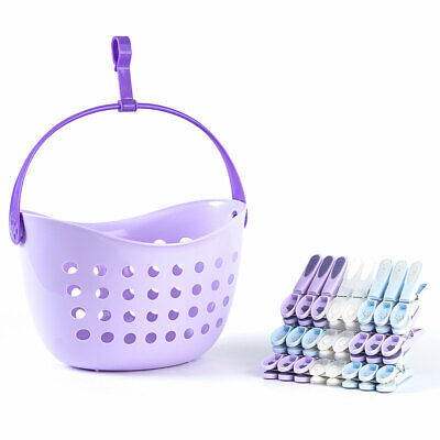Lakeland Peg Basket with 24 Clothes Pegs