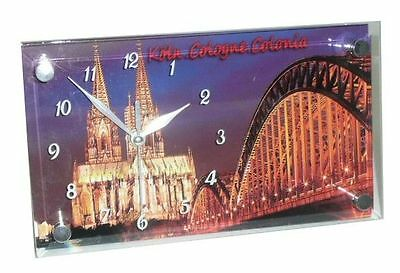 Cologne Watch Glass for standing Cologne Cathedral 23x13 cm Köln View