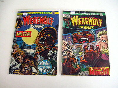 *WEREWOLF BY NIGHT #11-43 LOT 26 Books Guide $209.50