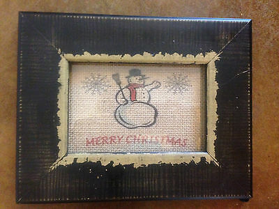 Christmas Burlap Prints - Can Personalize