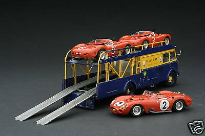 Exoto 43 / Maserati Races The 450S / Transporter + 3 Cars / 1:43 / #EXO00011GS1
