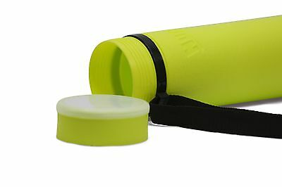 Lime Green Nozlen Expanding Document Poster Tube for posters, maps, artwork