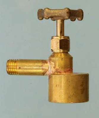 4357 Control Valve for Connecting Disposable Gas Tank to Center Flue Burner