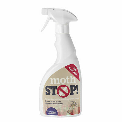 Lakeland Moth Stop Moth Killer Carpet & Fabric Spray, 500ml