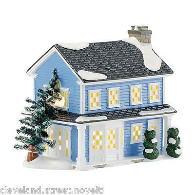 Department 56 Snow Village Christmas Vacation Todd and Margo's House 4042409