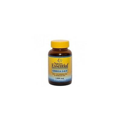 Omega 3-6-9 1000Mg 30Perlas Nature Essential