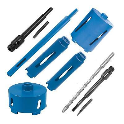 Diamond Core Drill Bits Hole Cutter Drilling Tool For Brick Block Concrete Kits