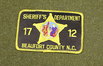 29574) Patch Beaufort County North Carolina Sheriff Dept Police Law Enforcement