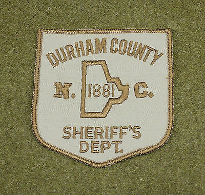 29535) Patch Durham County North Carolina Sheriff Dept Police Law Enforcement