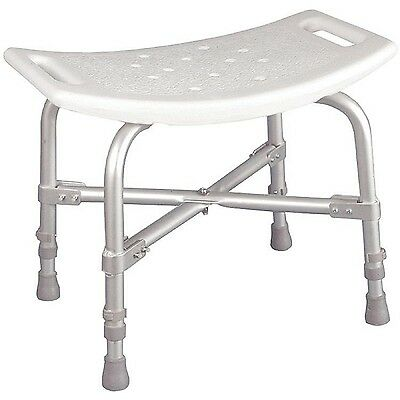 Medical Bathtub 500 lbs Backless Bath Tub Bench Shower Stool Handicap Seat Chair