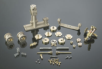 5009K Clyde Twin Cylinder Oscillating Engine Assembly Kit